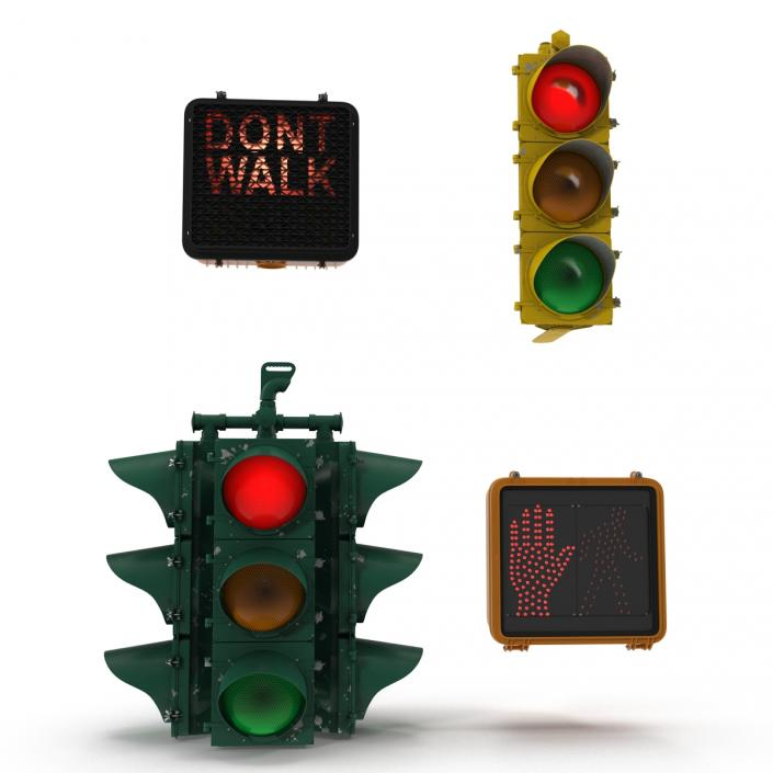 Stop Lights Collection 2 3D model