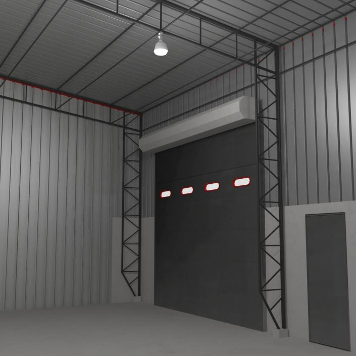3D Warehouse Building model