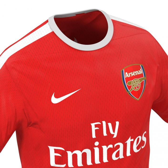 Soccer Clothes Arsenal 3D