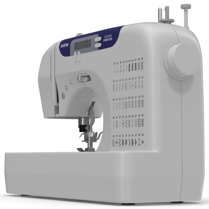 Sewing Machine Brother 3D