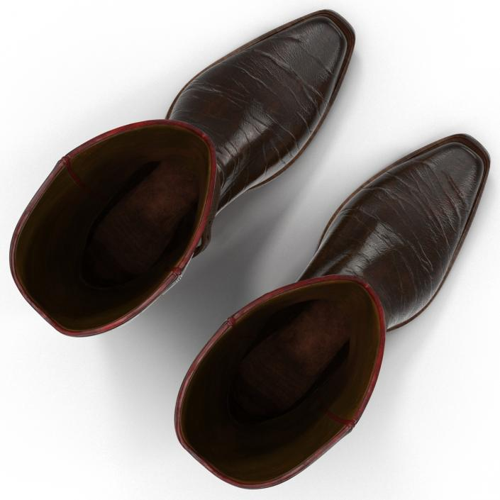 Cowboy Boots 3D