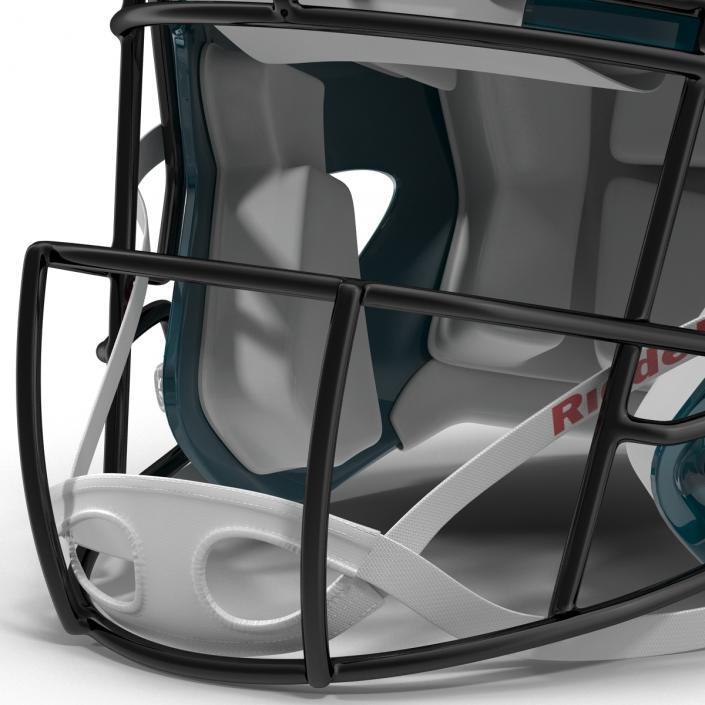 3D model Football Helmet 3 Riddell