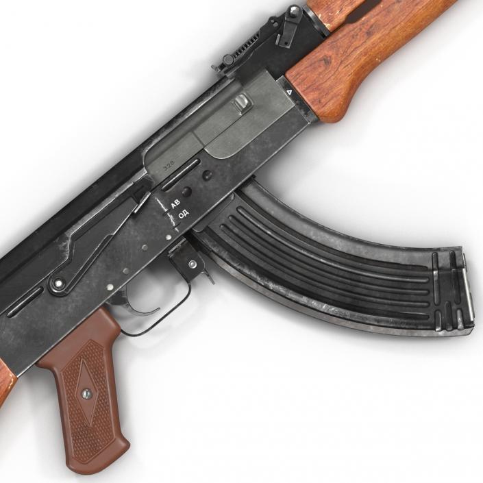 Assault Rifle AK 47 3D model | 3D Molier International