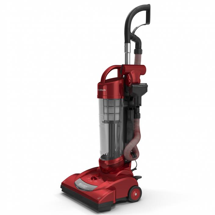 Upright Vacuum Cleaner 3D