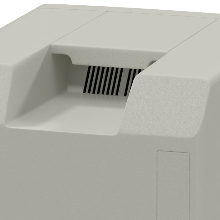3D Apple Macintosh Classic II
