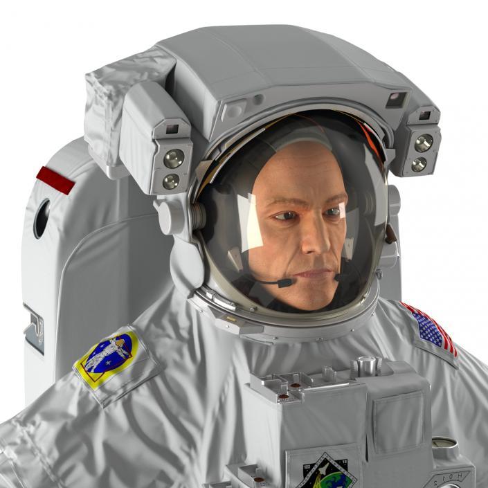 3D Astronaut Nasa Extravehicular Mobility Unit model