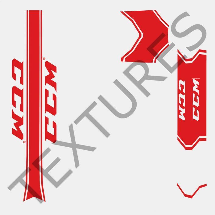 3d Goalie Hockey Stick Ccm Model 3d Molier International