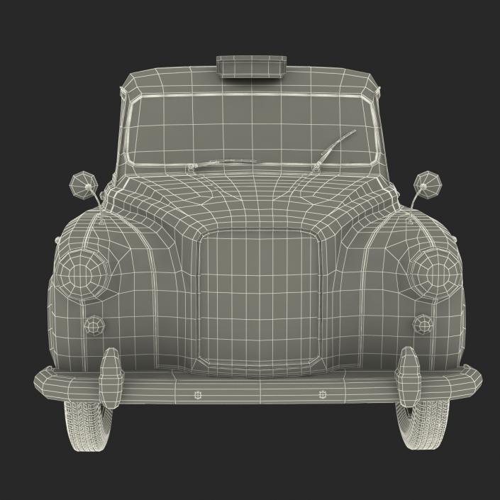 London Cab FX4 3D model