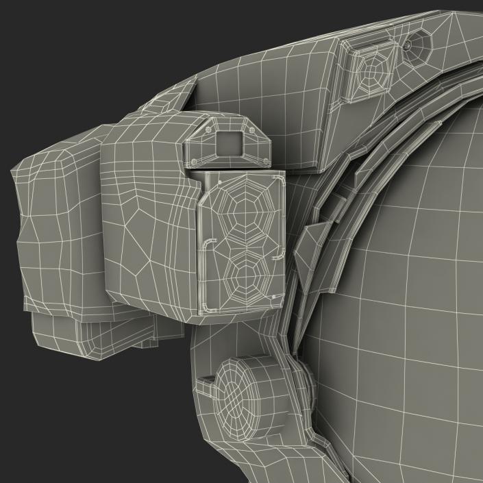 NASA Space Helmet 3D