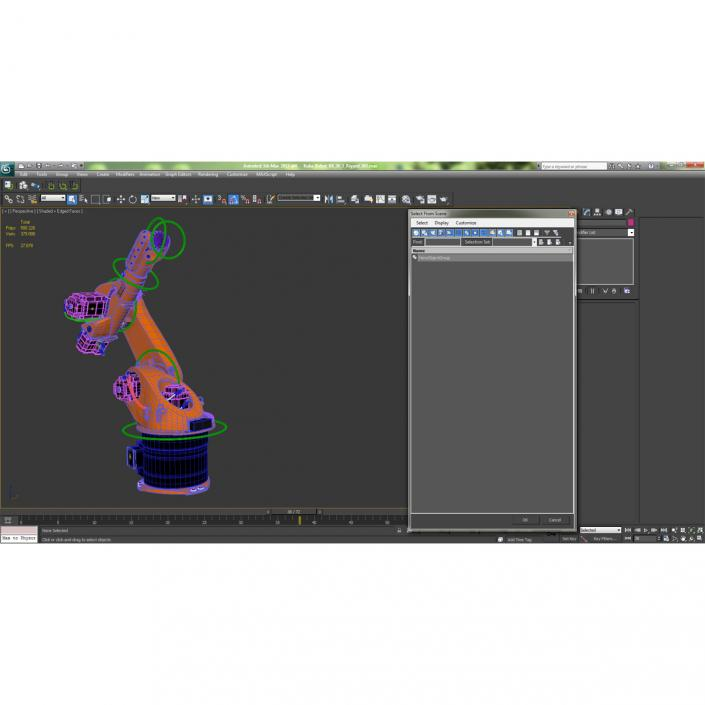 3D model Kuka Robot KR 30-3 Rigged