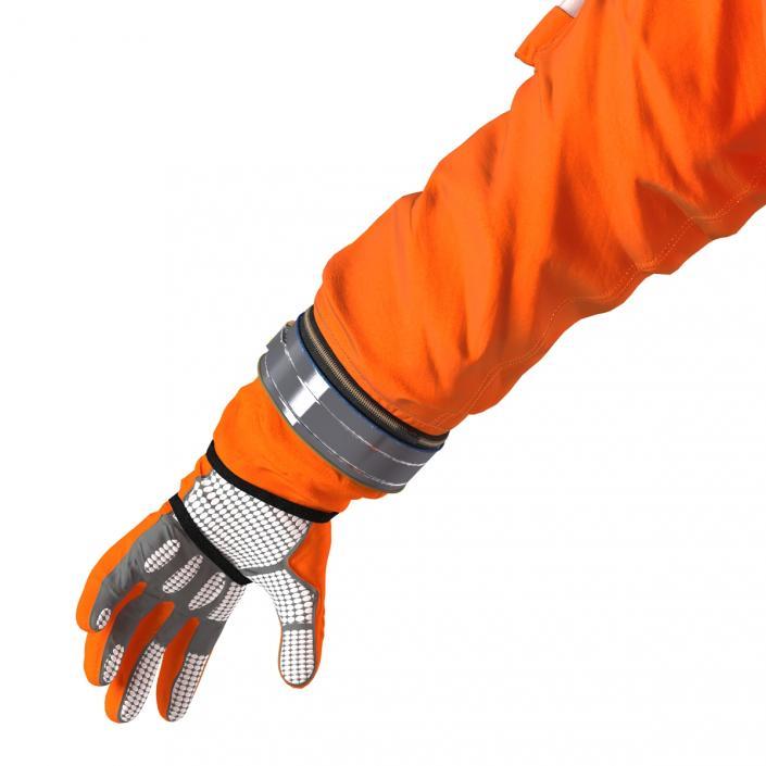 3D US Advanced Crew Escape Suit ACES model