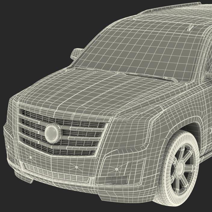Cadillac Escalade 2015 3D