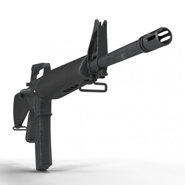 Assault Rifle M16 4 3D model
