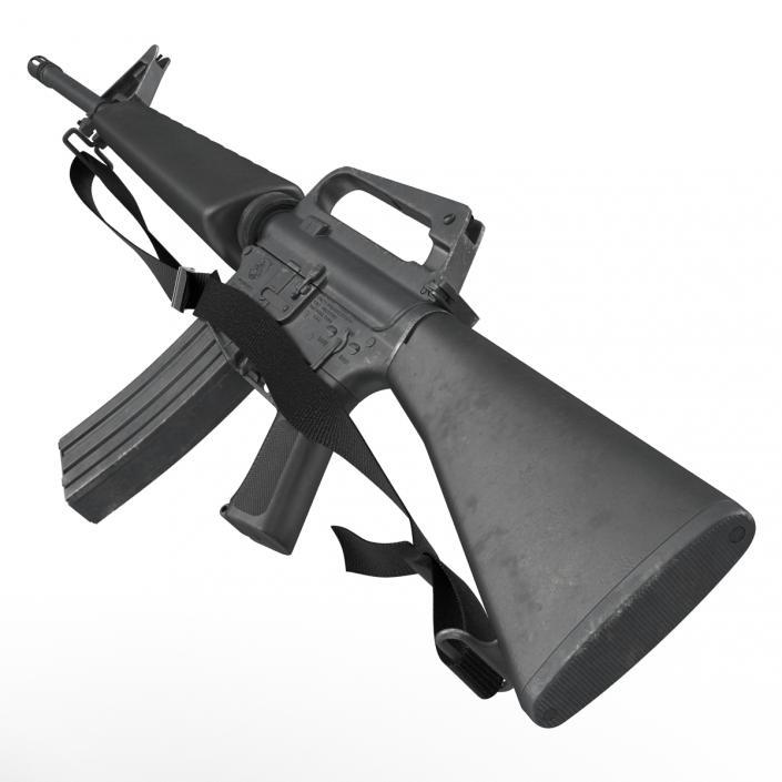 Assault Rifle M16 5 3D model