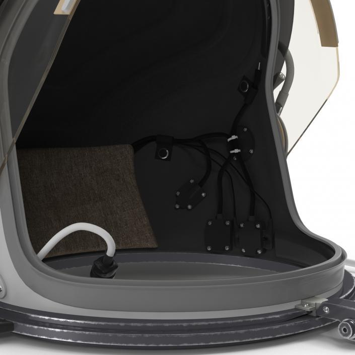 3D model US Advanced Crew Escape Helmet