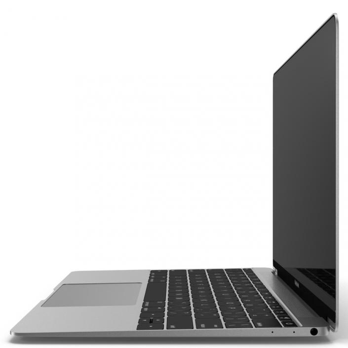 Apple MacBook Pro Silver 3D model