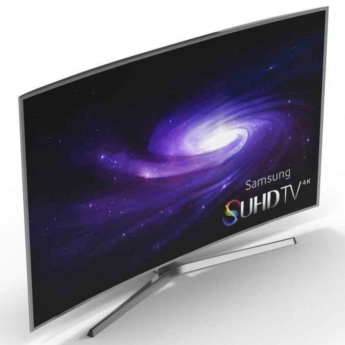 3D model 4K SUHD JS9000 Series Curved Smart TV 55 inch