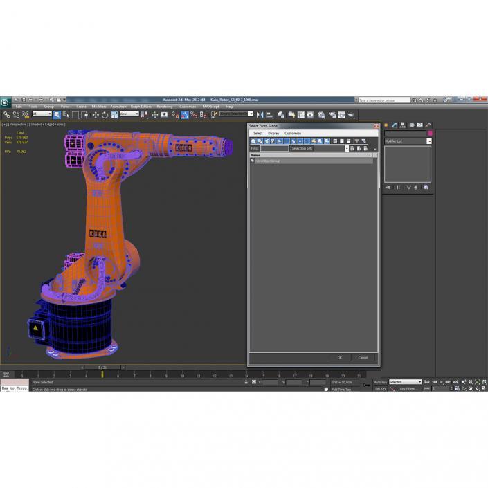 3D Kuka Robot KR 60-3 model
