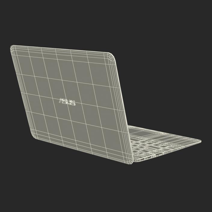3D model Laptop Asus Zenbook UX305