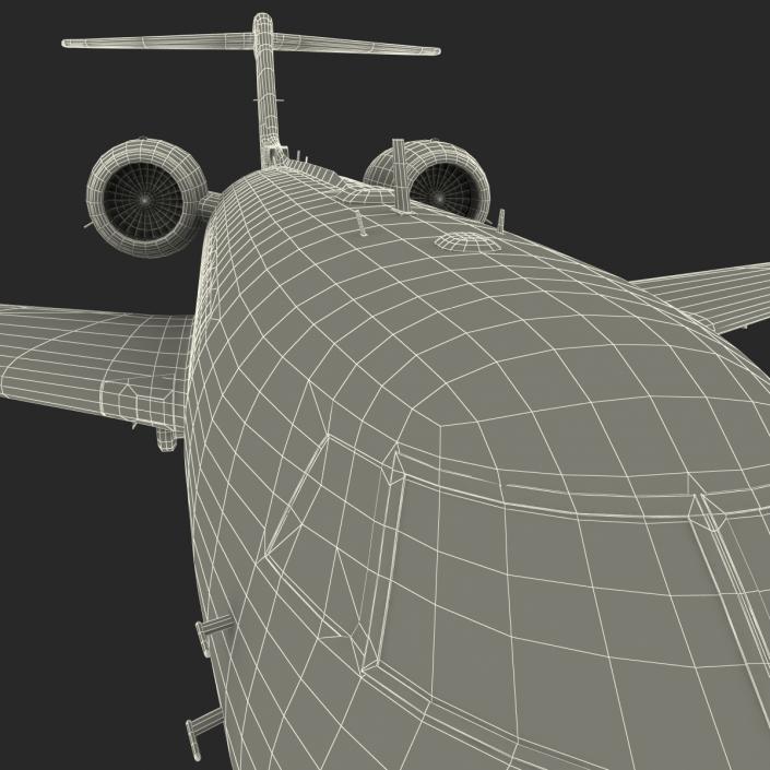 3D model Gulfstream G450