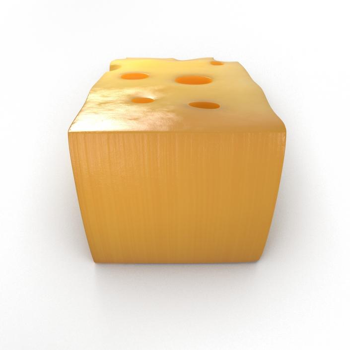 Cheese Wedge 2 3D model