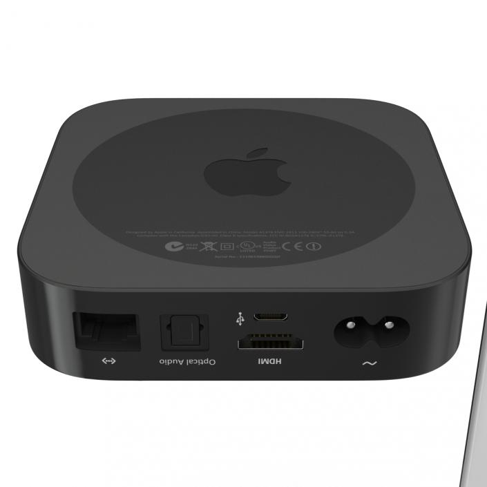 3D New Apple TV 2015 Set
