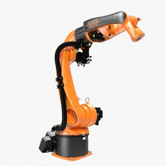 3D Kuka Robot KR 5-2 Arc HW Rigged | 3D Molier International