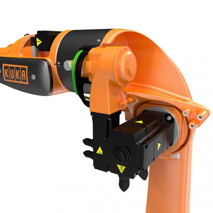 3D Kuka Robot KR 5-2 Arc HW Rigged