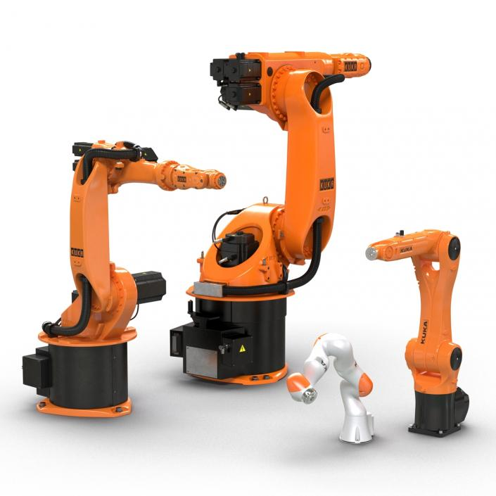 Kuka Robots Collection 2 3D model