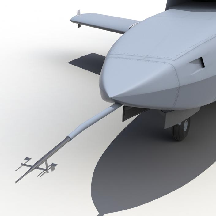 3d Eads Barracuda Uav Model 3d Molier International