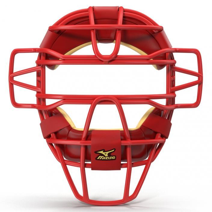 3D model Catchers Face Mask Mizuno