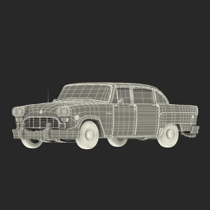 3D Checker Marathon Rigged model