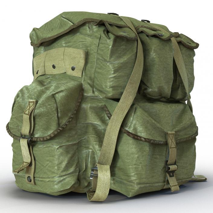 Military Backpack 2 3D model