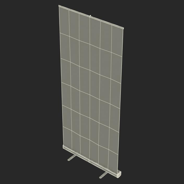 Banner Stand 2 Generic 3D