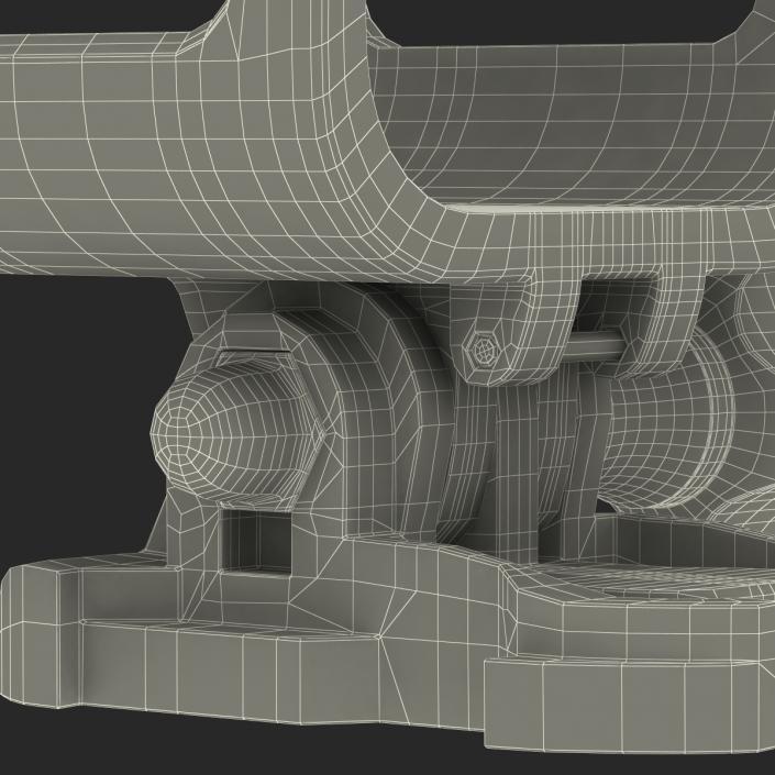 3D model GoPro Hero 4 Session Camera Housing