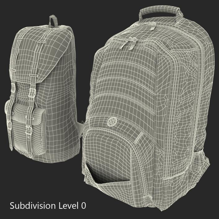 3D model Backpacks Collection