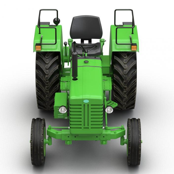 3D model Generic Tractor