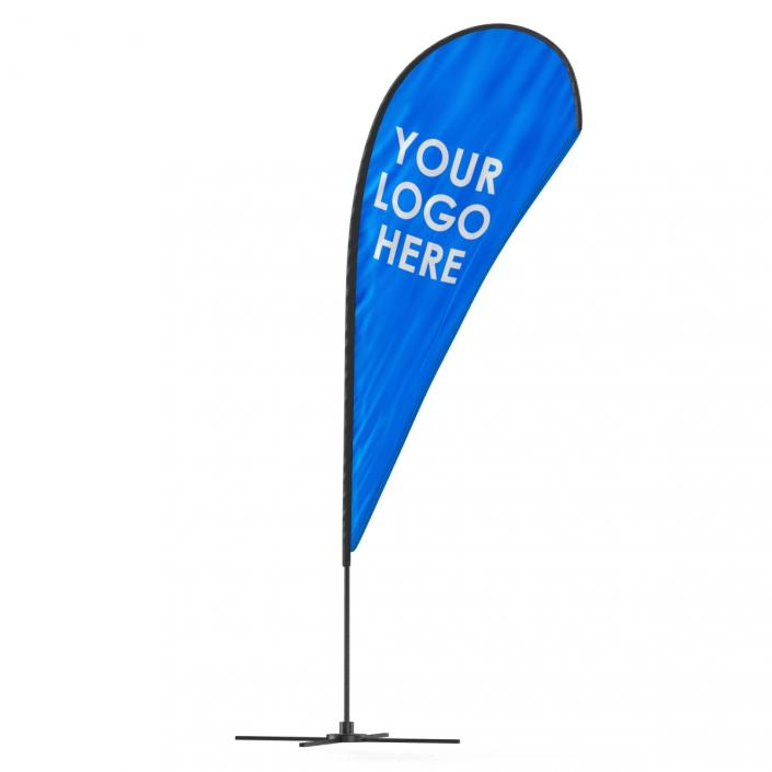 Banner Stand 3 Generic 3D
