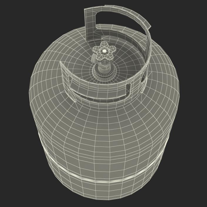 Gas Cylinder 3D
