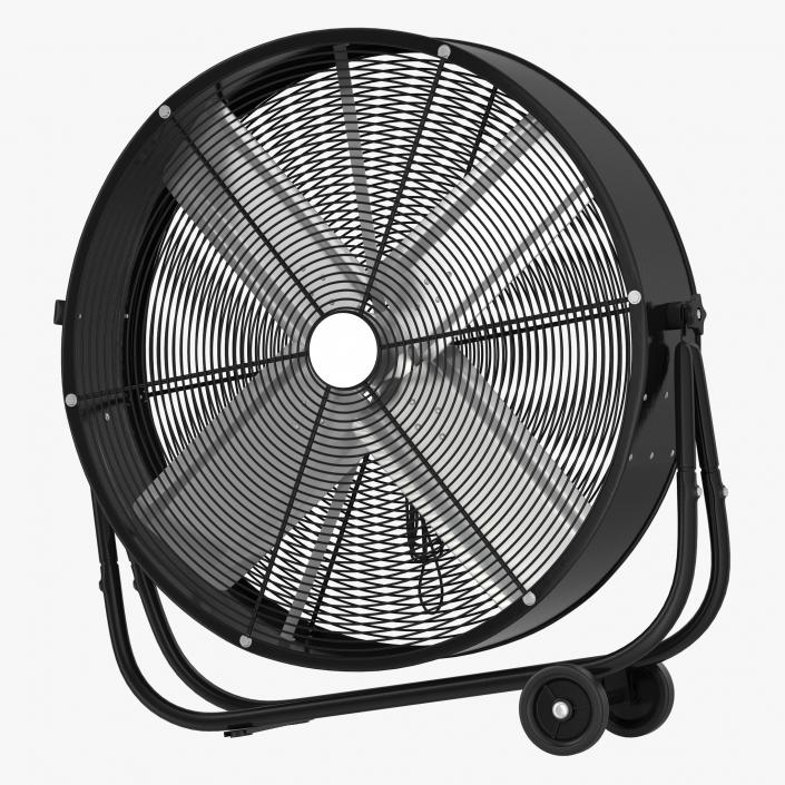 Industrial Fan Generic 3d