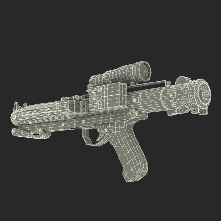 3D Star Wars Stormtrooper Gun Used