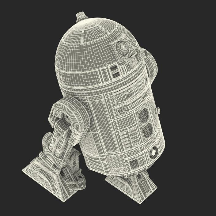 R2 D2 3D model