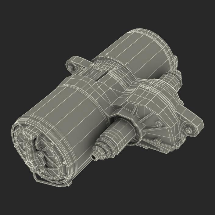 3D model Tesla Electric Motor