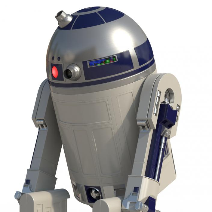 3D model Star Wars Character R2 D2