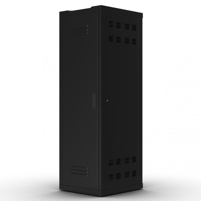 3D Generic Servers in Rack model
