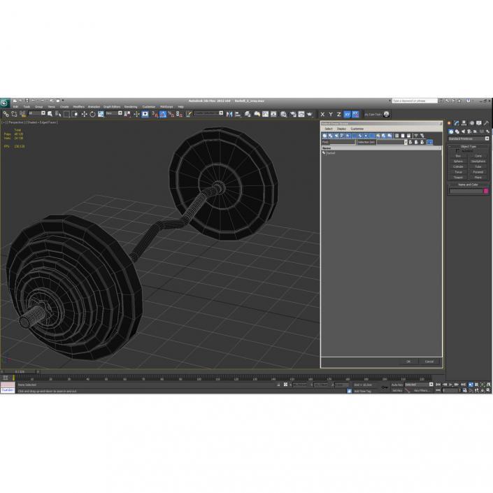 Barbell 2 3D model