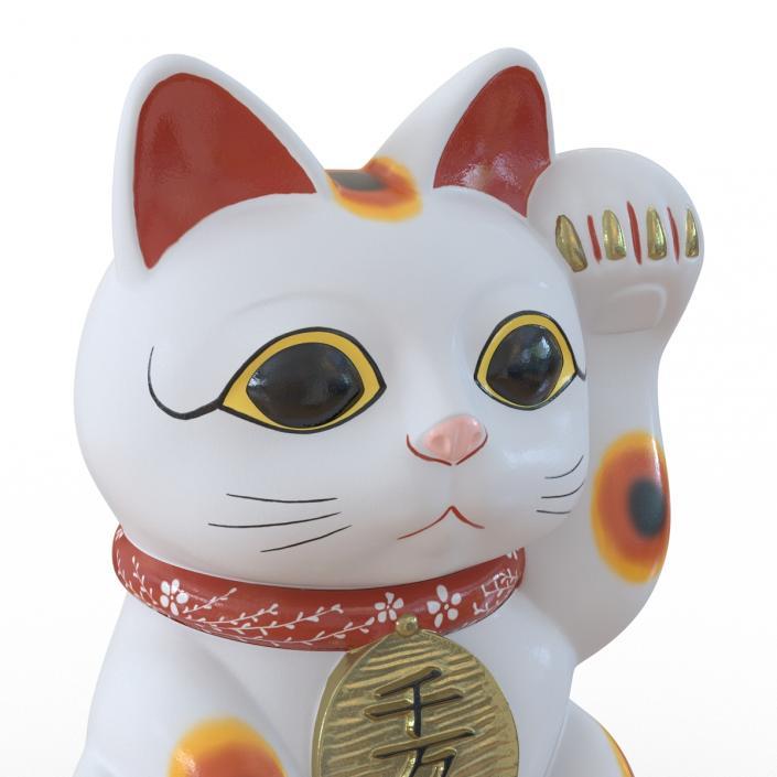 3D Maneki Neko 2 model