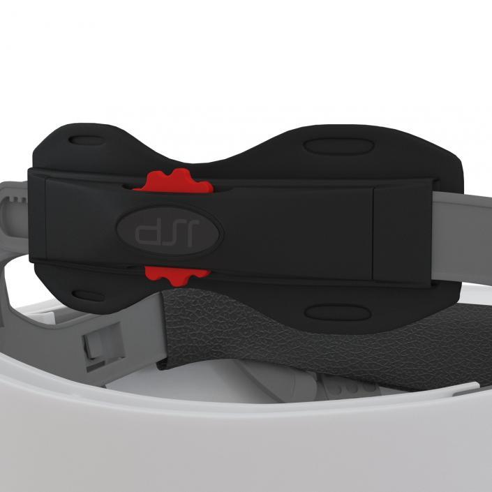 Safety Helmet White 3D model