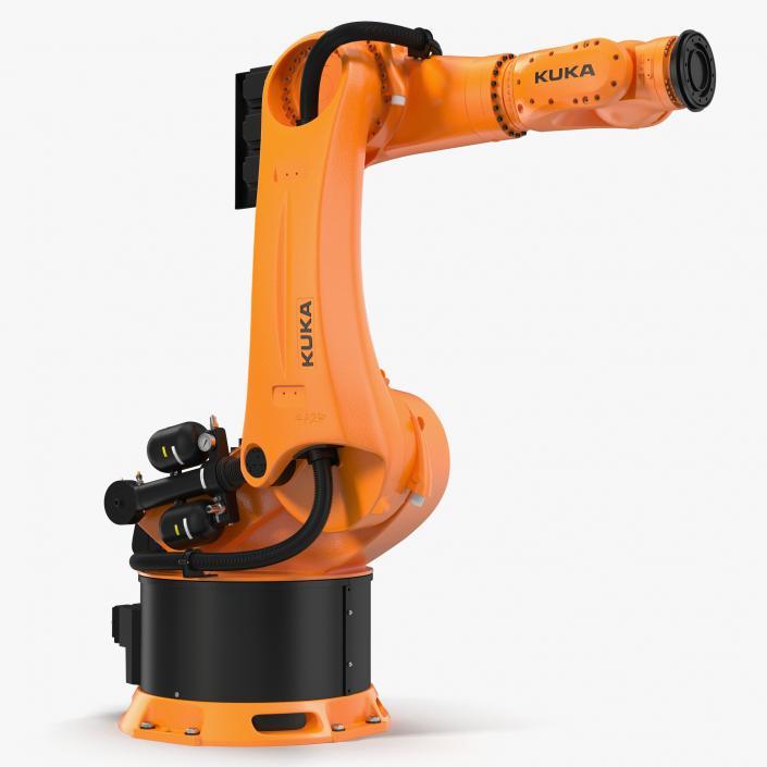 Kuka Robot KR-500 FORTEC 3D model | 3D Molier International