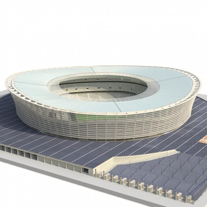Cape Town Stadium Green Point 3D model